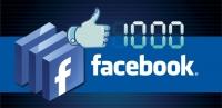 1000 polubień na Facebooku