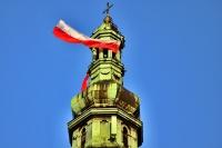 Biało-czerwona wieża