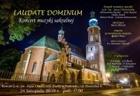 """Koncert """"Laudate Dominum"""""""