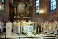 Dziękowali za 25 lat kapłaństwa
