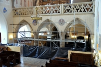 Renowacja empory chórowej