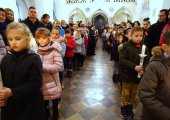 Odnowienie przyrzeczeń chrzcielnych i poświęcenie książeczek - 7.01.2018