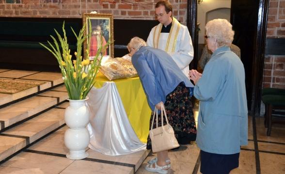Relikwie Jana Pawła II w Farze