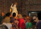 Nawiedzenie kopii figury św. Michała Archanioła z góry Gargano - 9.07.2014