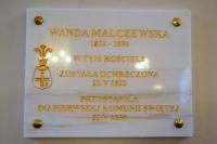 O Wandzie Malczewskiej w Farze