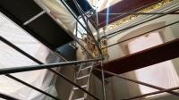 Prace w kaplicy Kochanowskich