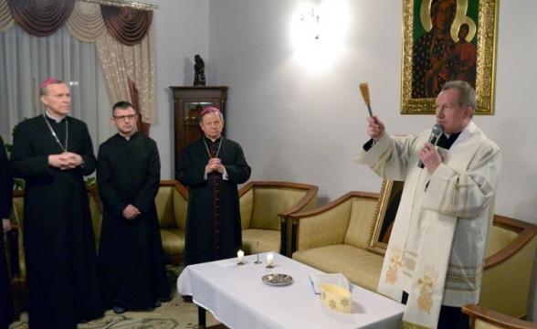 Z wizytą w domu Biskupa