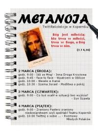 Metanoja - TwittRekolekcje w Koperniku